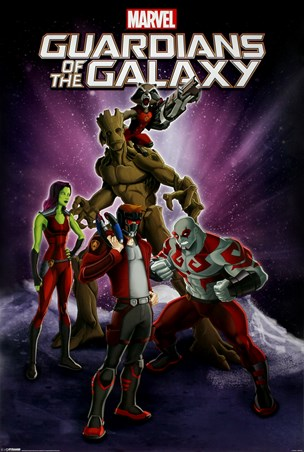 Guardians Of The Galaxy Cartoon - Marvel