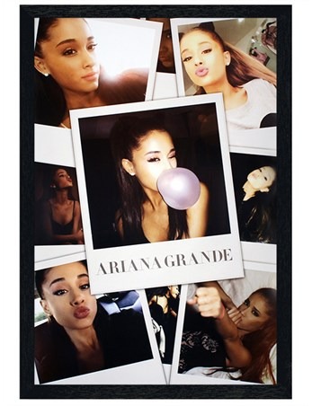 Black Wooden Framed Selfies - Ariana Grande