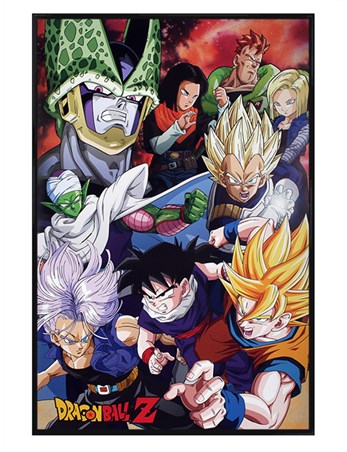 Gloss Black Framed Cell Saga - Dragon Ball Z