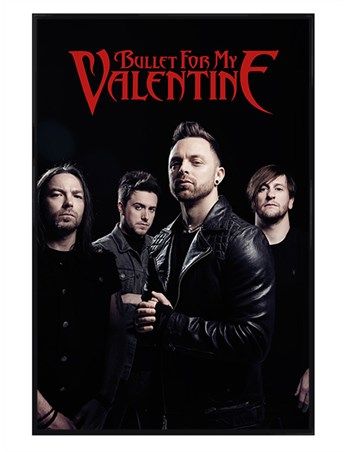 Gloss Black Framed A Heavy Metal Success - Bullet For My Valentine