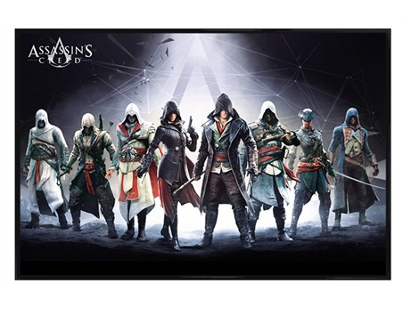 Gloss Black Framed Character Compilation - Assassins Creed