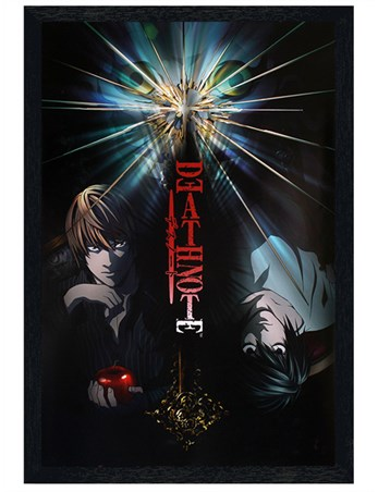 Black Wooden Framed Duo Disaster - Death Note