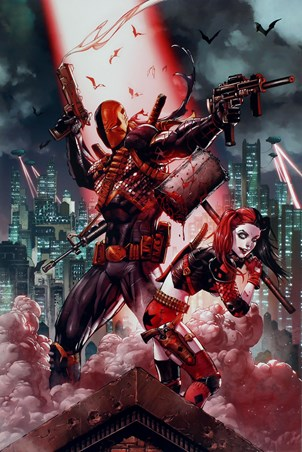 Deathstroke & Harley Quinn - DC Comics Suicide Squad
