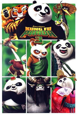 Framed A Martial Arts Masterpiece - Kung Fu Panda 3