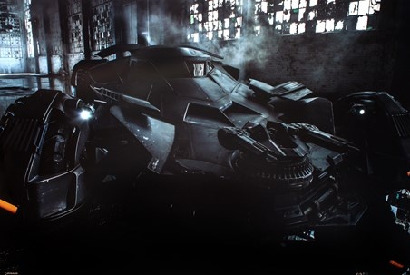 Batmobile - Batman Vs. Superman