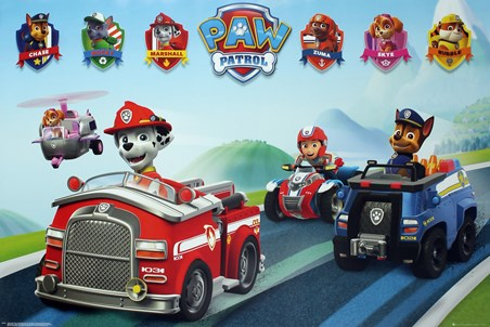 Puppy Vehicles - Paw Patrol