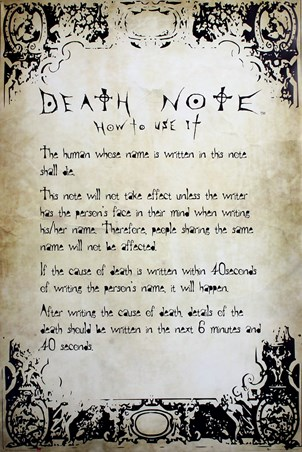 Play By The Rules - Death Note