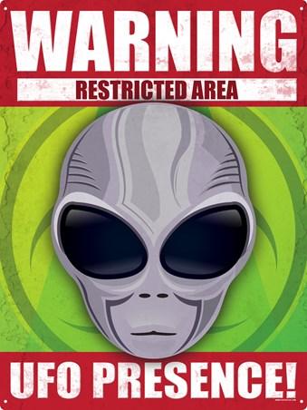 Warning! - UFO Presence!
