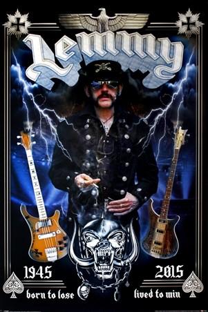 Framed Lemmy Commemorative - Motorhead