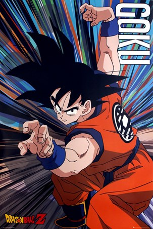 Goku Battle Stance - Dragon Ball Z