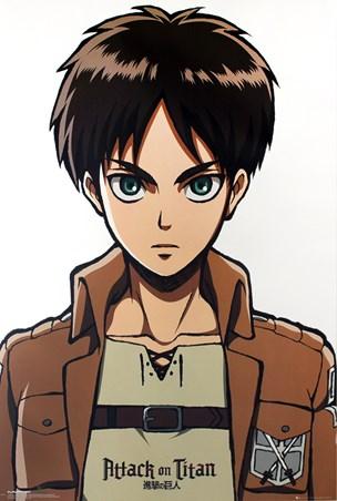 Eren Portrait - Attack on Titan