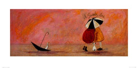 A Sneaky One Art - Sam Toft