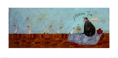 Framed Afternoon Tea - Sam Toft