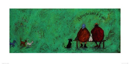 Putting The World To Rights - Sam Toft