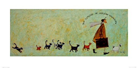 The Suitcase Of Sardine Sandwiches - Sam Toft