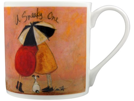 A Sneaky One - Sam Toft, Bone China Mug