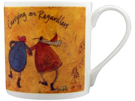 Carrying On Regardless - Sam Toft, Bone China Mug