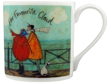 Her Favourite Cloud - Sam Toft, Bone China Mug
