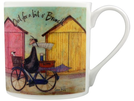 Out For A Bit O' Brunch - Sam Toft, Bone China Mug