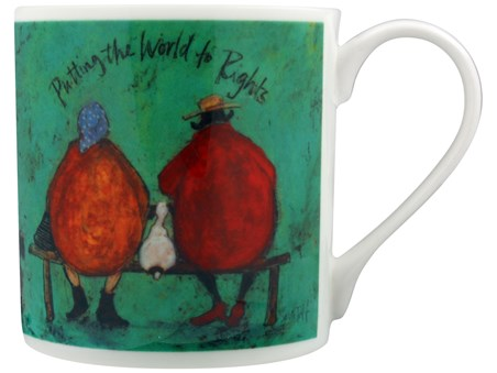 Putting The World To Rights - Sam Toft, Bone China Mug