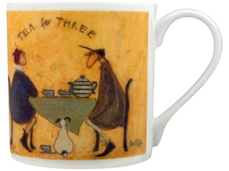 Tea For Two, Tea For Three - Sam Toft, Bone China Mug