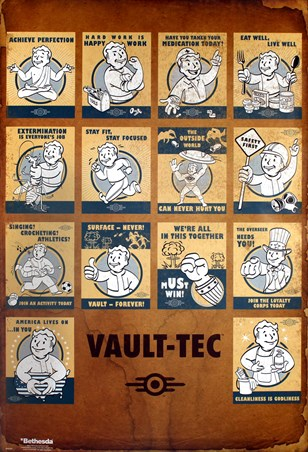 'Revolutionizing Safety For An Uncertain Future' - Fallout 4 Vault Tec Compilation