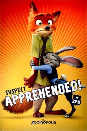 Suspect Apprehended - Zootropolis