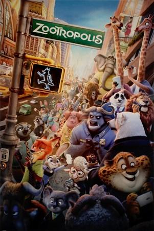 Character Montage - Disney Zootropolis
