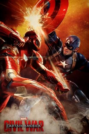 Framed The Fight Is On! - Captain America Civil War