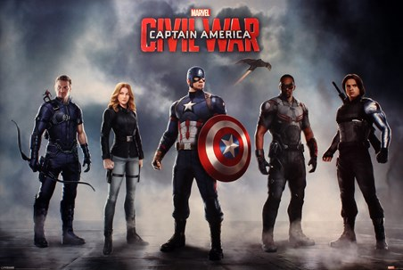 Team Stars and Stripes - Captain America Civil War