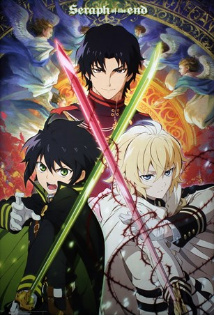 Character Trio - Seraph Of The End