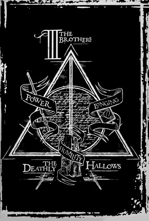 Deathly Hallows Graphic - Harry Potter