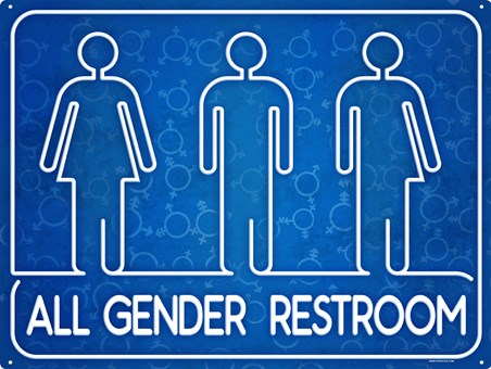 All Are Welcome - All Gender Restroom