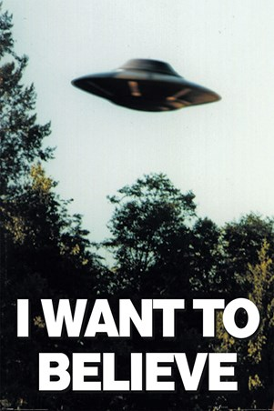 I Want To Believe - The X-Files