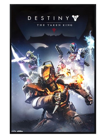 Gloss Black Framed The Taken King - Destiny