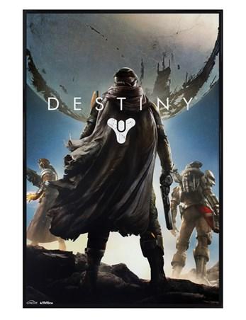Framed Gloss Black Framed Guardian Cover Art - Destiny