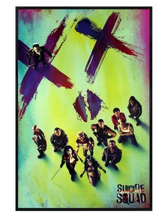 Gloss Black Framed Suicide Skull - DC Comics Suicide Squad