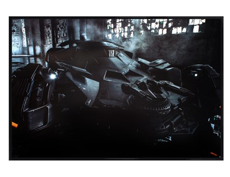 Gloss Black Framed Batmobile - Batman Vs. Superman