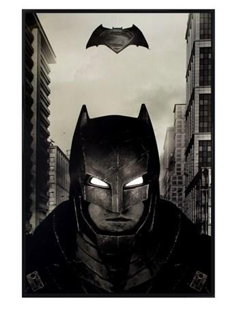 Gloss Black Framed Battle Suit - Batman V Superman