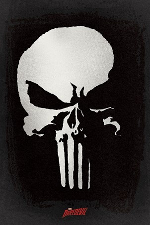 The Punisher Logo - Daredevil TV Series