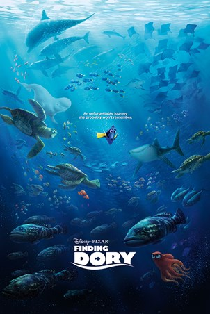 Unforgettable Journey - Finding Dory