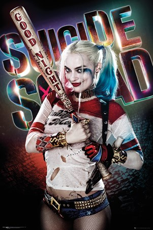 Harley Quinn Good Night - Suicide Squad