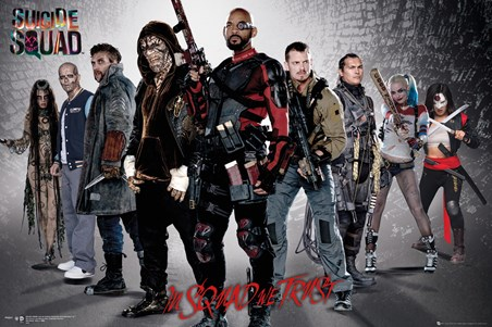 Group Shot - Suicide Squad