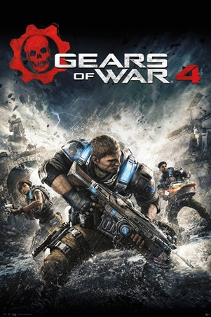 Game Cover - Gears Of War 4