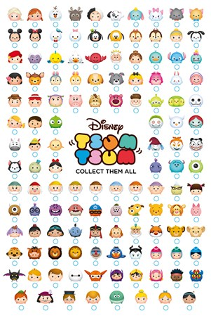 Collect Them All - Tsum Tsum