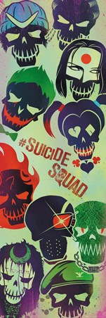 Skull Faces - Suicide Squad