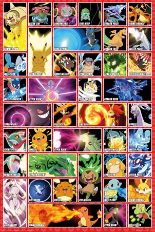 Character Moves - Pokemon