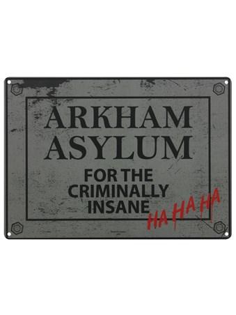 Framed Home To The Criminally Insane - Arkham Asylum