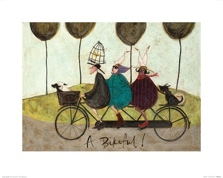 A Bikeful! - Sam Toft