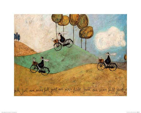 Framed Just One More Hill - Sam Toft